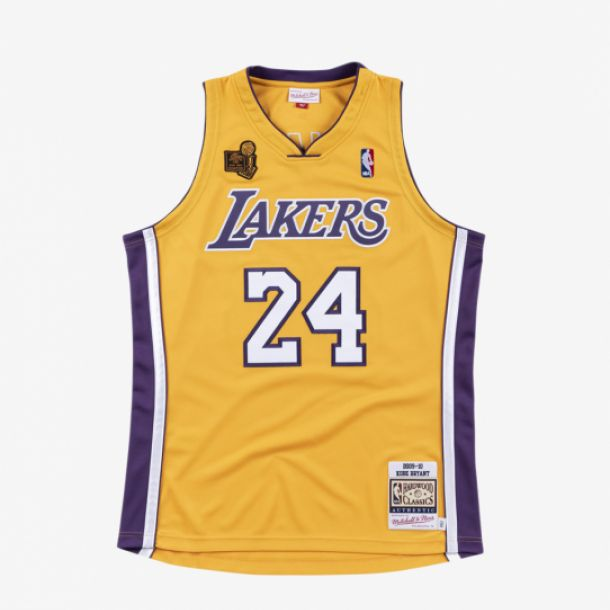 BRYANT 09-10 AUTHENTIC JERSEY