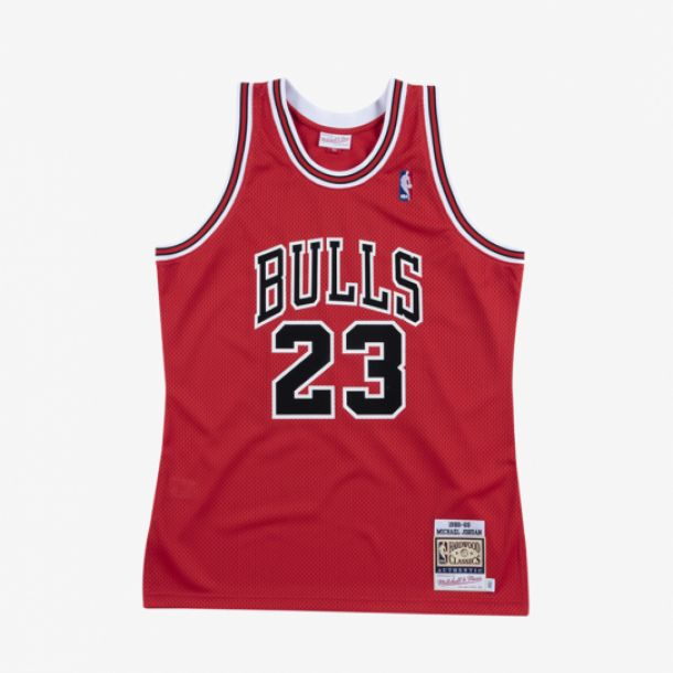 JORDAN 88-89 AUTHENTIC JERSEY