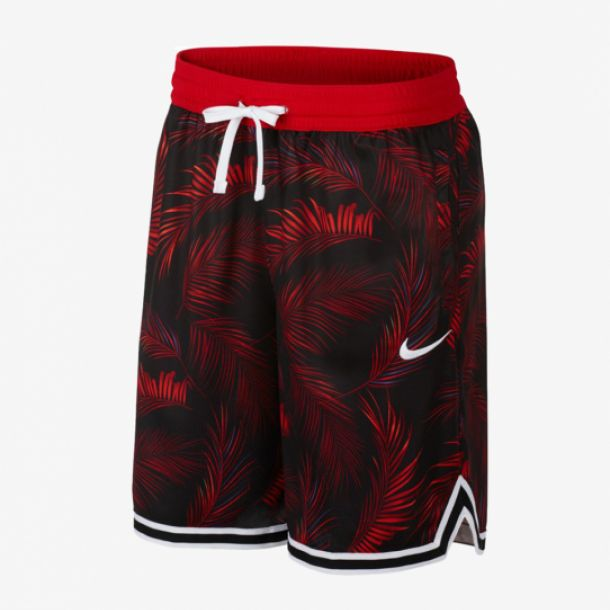 DNA FLORAL SHORT RED