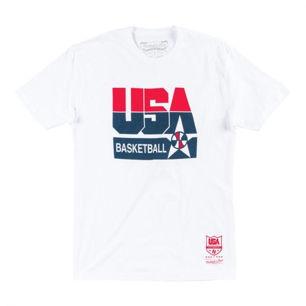 USA BASKETBALL LOGO TEE