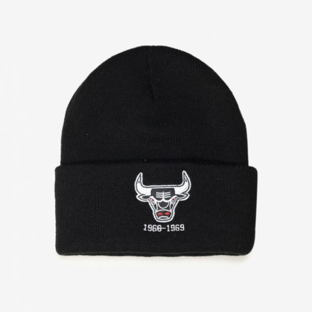 BULLS TEAM LOGO CUFF KNIT