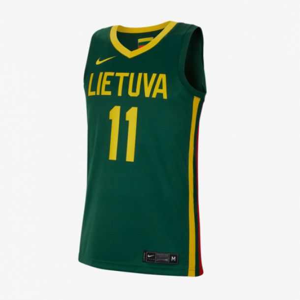 SABONIS WORLD CUP JERSEY