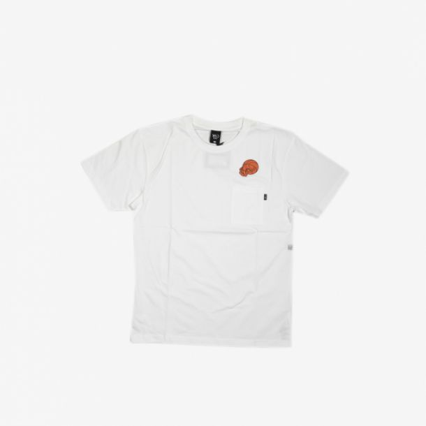 CANNONBALL POCKET TEE WHITE