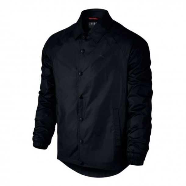 WINGS COACHES JACKET BLACK