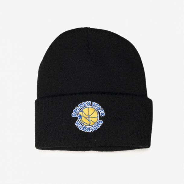 WARRIORS TEAM LOGO CUFF KNIT
