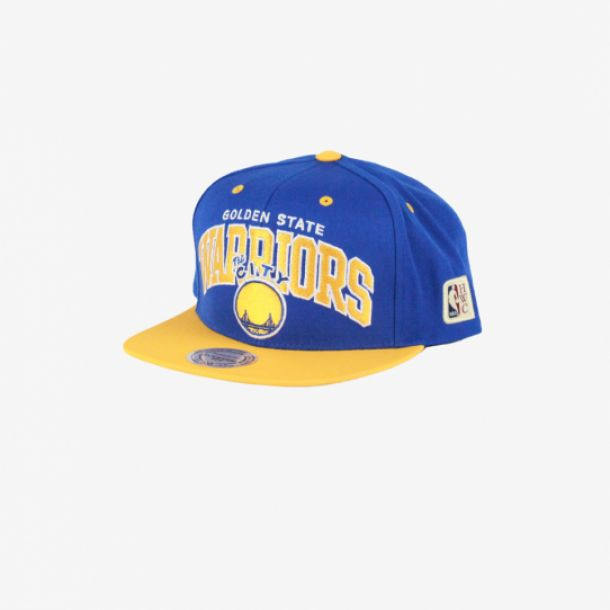 WARRIORS TEAM ARCH 2 TONE SNAPBACK