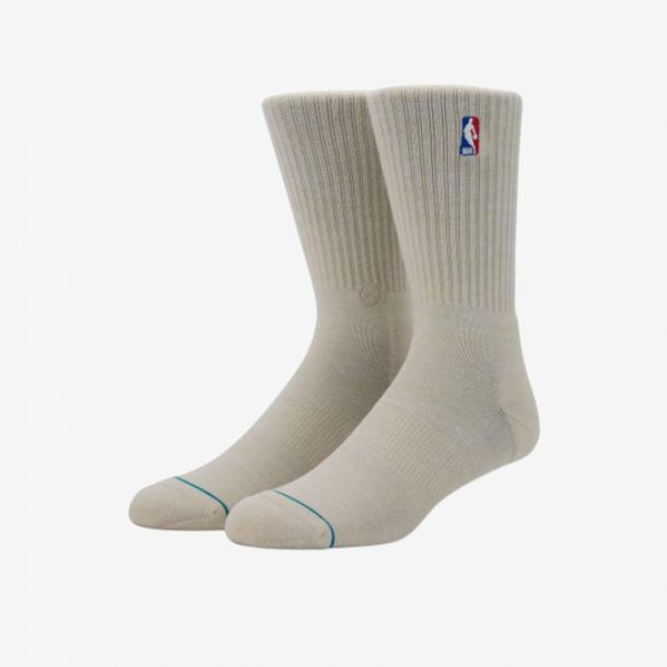 NBA LOGOMAN CREW II SOCKS NATURAL