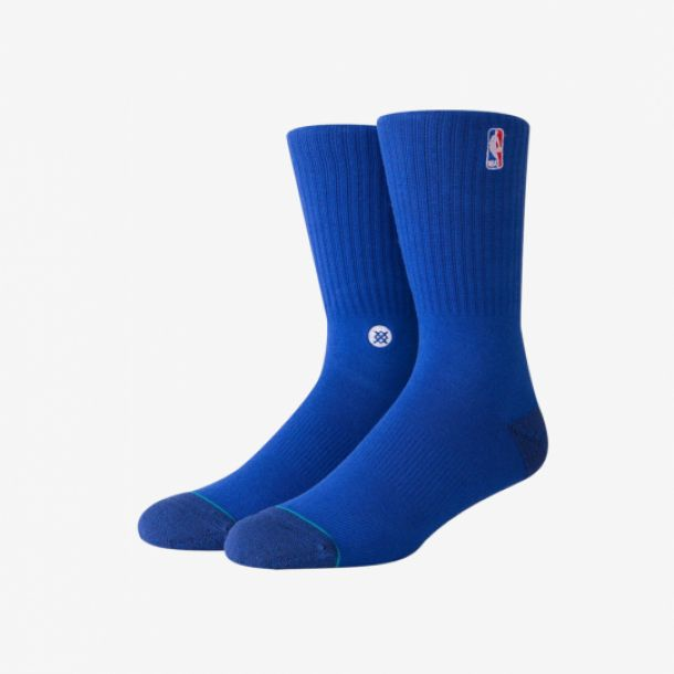 NBA LOGOMAN CREW II SOCKS ROYAL