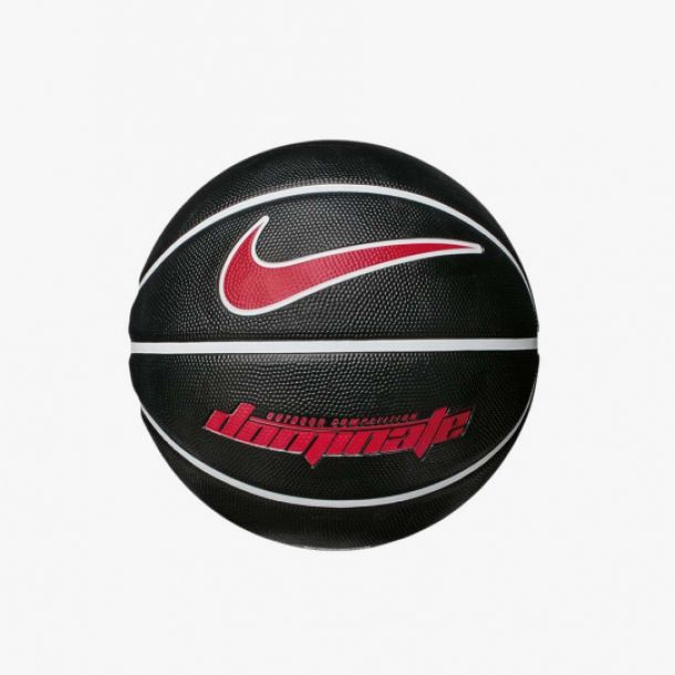 DOMINATE BASKETBALL BLACK RED