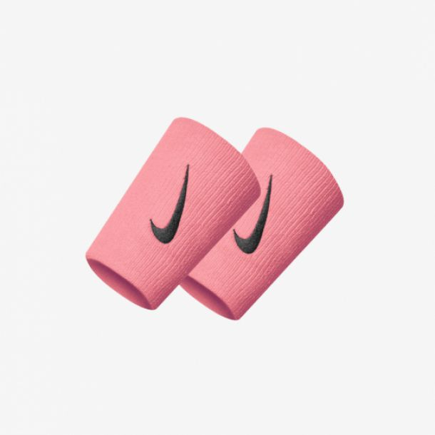 SWOOSH DOUBLEWIDE WRISTBAND PINK
