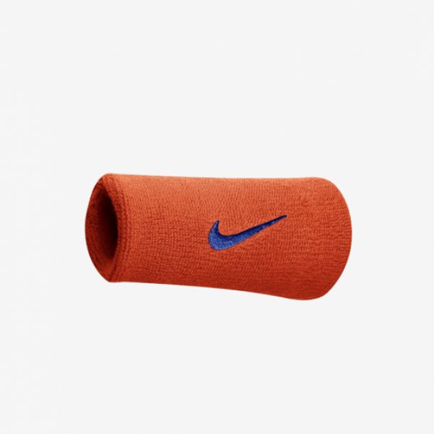SWOOSH DOUBLEWIDE WRISTBAND TOTAL ORANGE