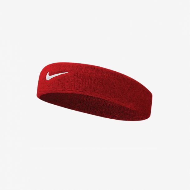 SWOOSH HEADBAND RED