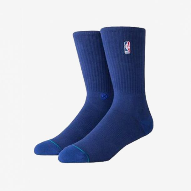 NBA LOGOMAN CREW II SOCKS NAVY