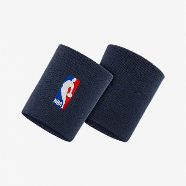 NBA WRISTBAND COLLEGE NAVY