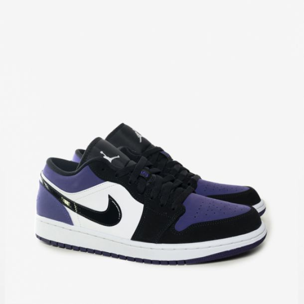 JORDAN 1 COURT PURPLE LOW