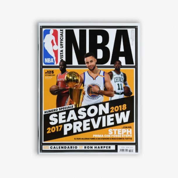 RIVISTA UFFICIALE NBA #125 OTTOBRE 2017