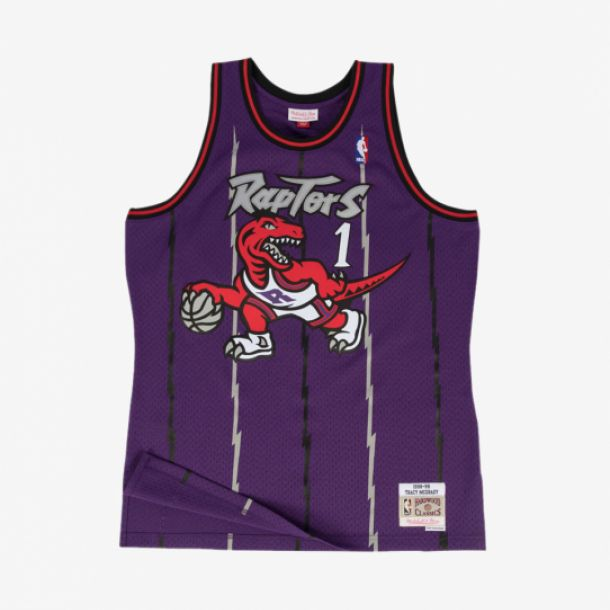 MCGRADY 98/99 RAPTORS SWINGMAN JERSEY