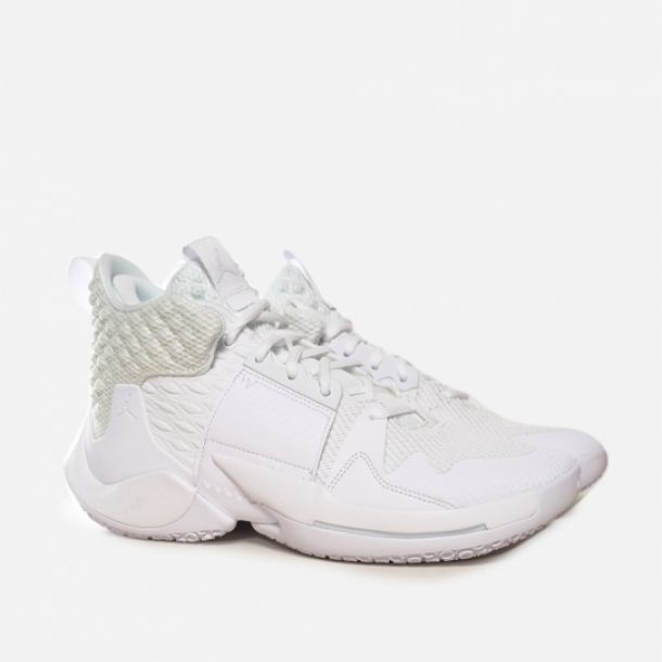 JORDAN WHY NOT ZER0.2 TRIPLE WHITE