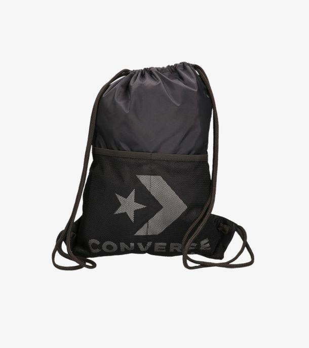 CONVERSE CINCH BAG BLACK