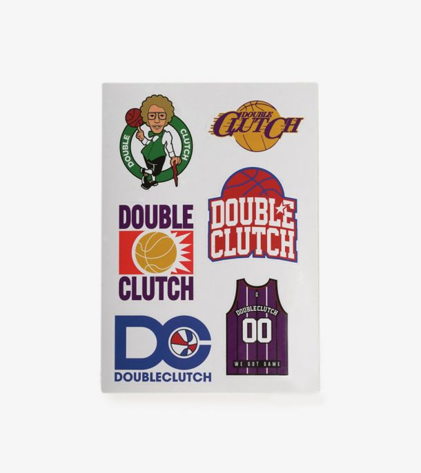 DOUBLE CLUTCH STICKER PACK