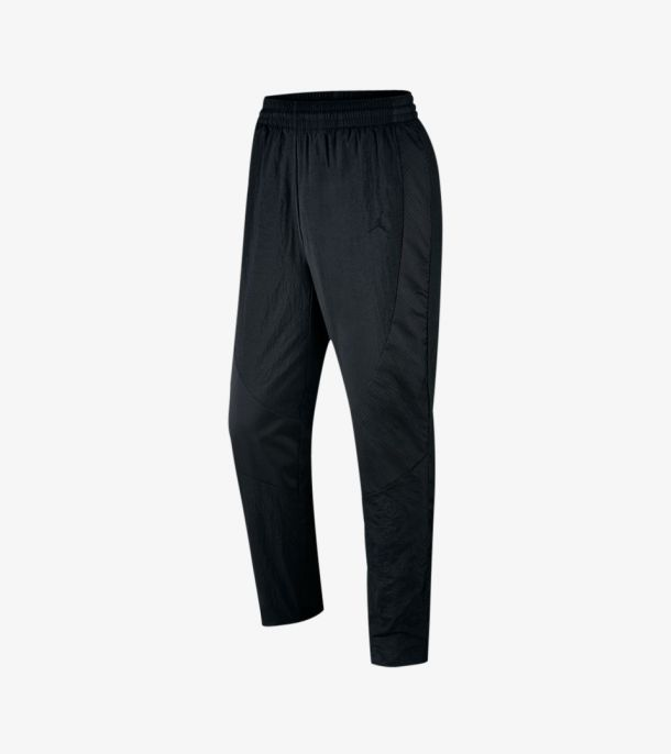 JORDAN WINGS WOVEN PANTS BLACK