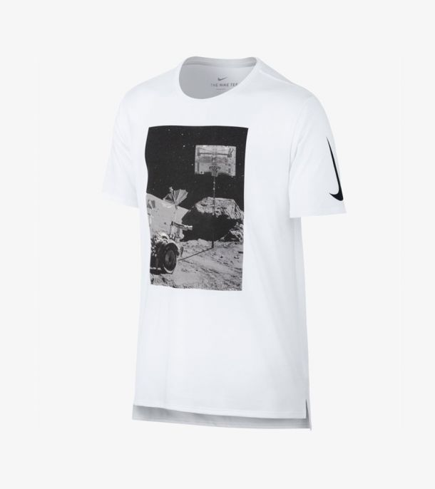 DRY TEE MOONSHOT WHITE