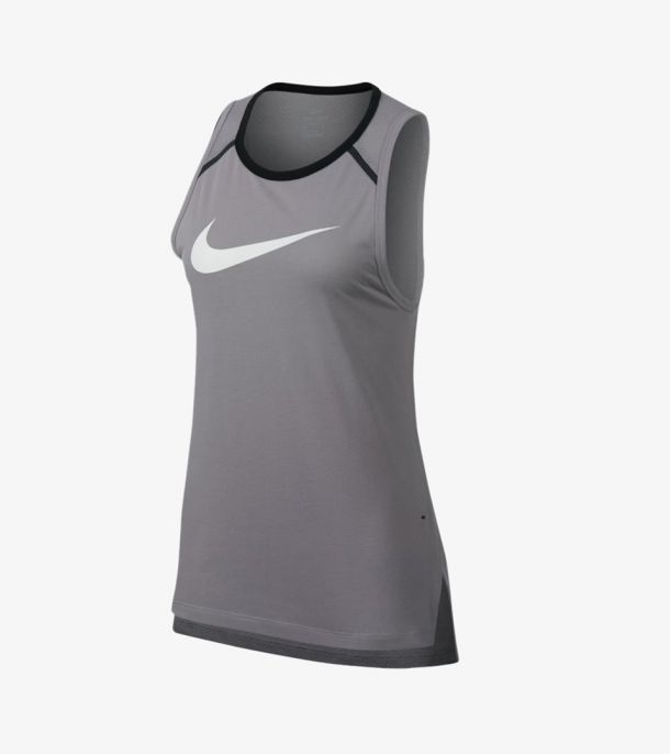 WOMAN BREATHE ELITE TOP GREY