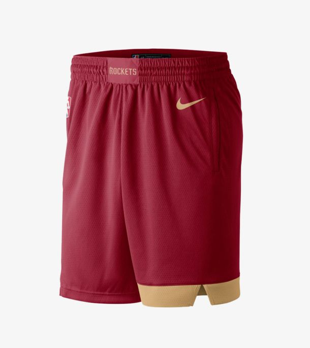 ROCKETS CITY EDITION SWINGMAN SHORT