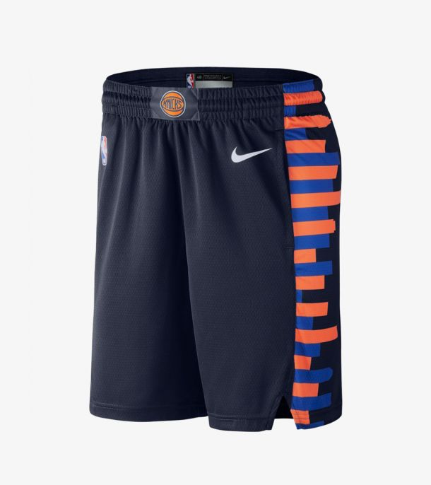 KNICKS CITY EDITION SWINGMAN SHORT