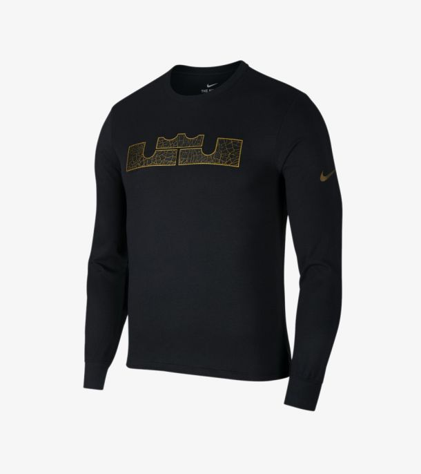 LEBRON LOGO LONG SLEEVE TEE