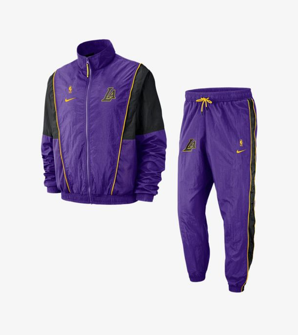 LAKERS COURTSIDE TRACKSUIT
