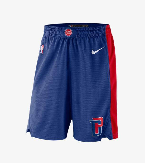 PISTONS ICON SWINGMAN SHORT