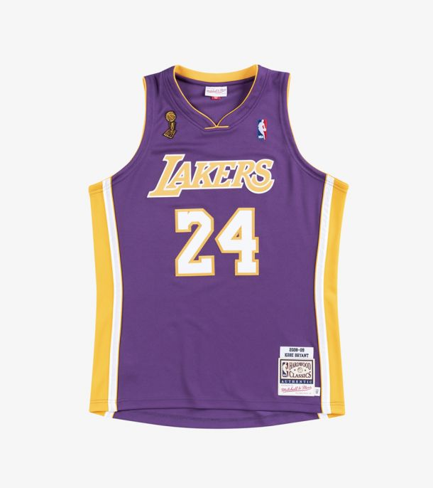 BRYANT 08-09 AUTHENTIC JERSEY