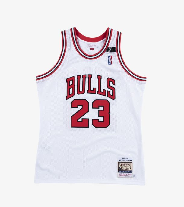 JORDAN 91-92 AUTHENTIC JERSEY