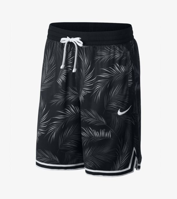 DNA FLORAL SHORT BLACK