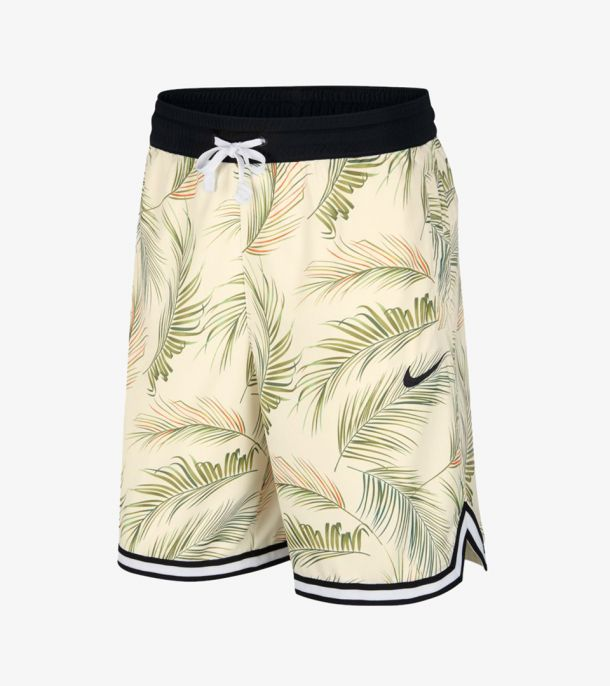 DNA FLORAL SHORT PALE IVORY