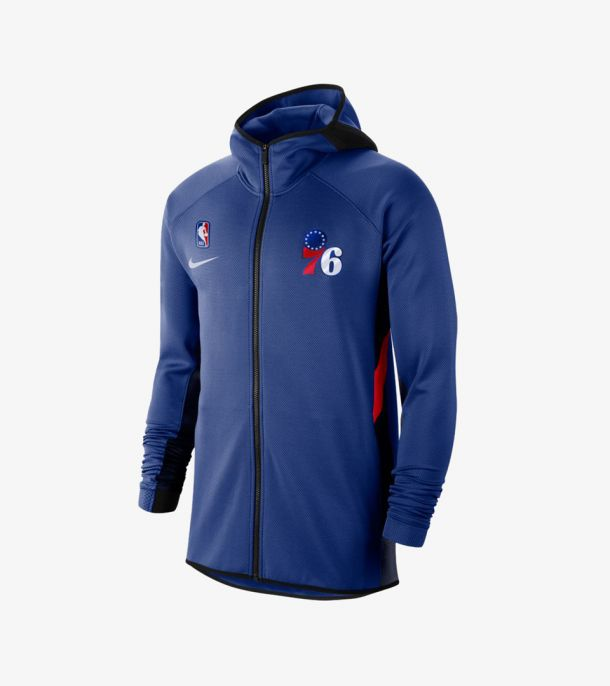 76ERS THERMAFLEX SHOWTIME HOODIE