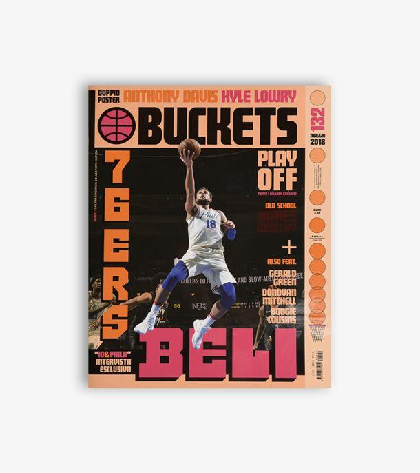 BUCKETS #132 MAGGIO 2018