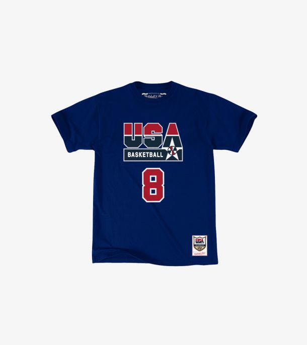 PIPPEN USA NAME NUMBER TEE