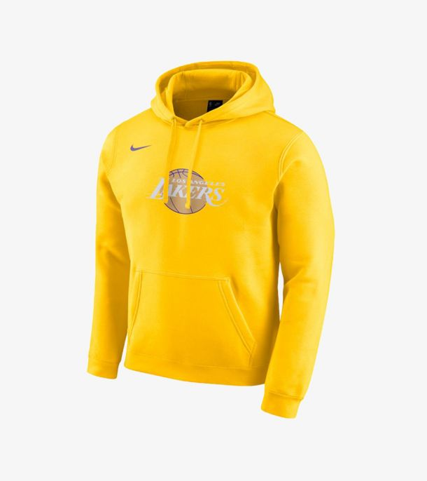 LAKERS CITY EDITION LOGO HOODIE