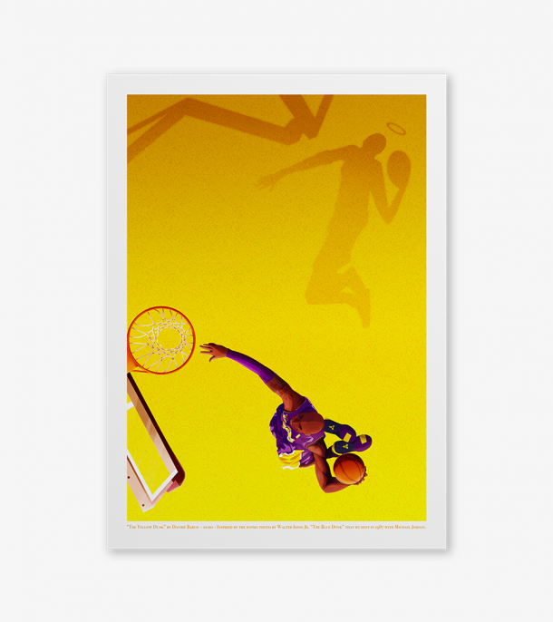THE YELLOW DUNK