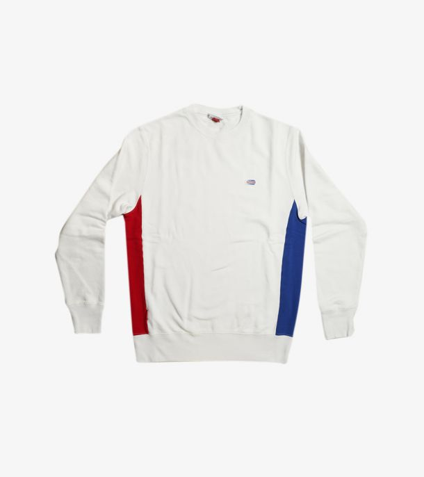 RNG LATERAL BANDS CREW WHITE