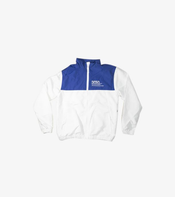 NASA TRACK JACKET WHITE