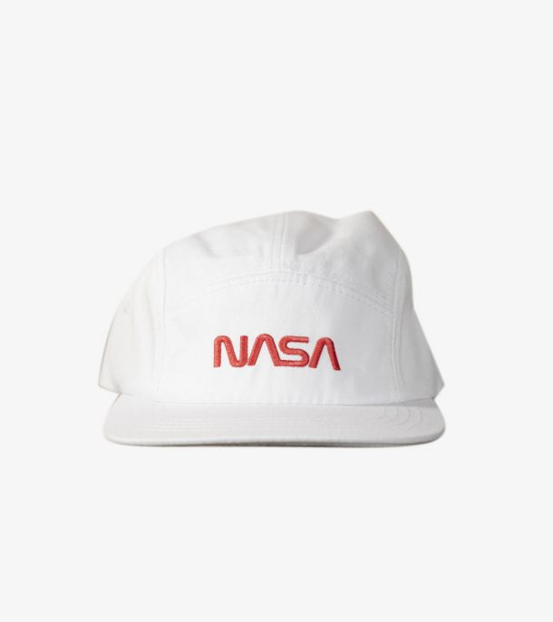 NASA SPORTSWEAR CAP WHITE
