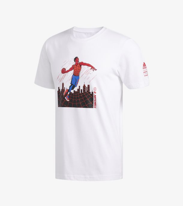 DONOVAN MITCHELL SPIDERMAN TEE
