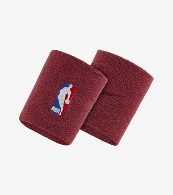 NBA WRISTBAND TRUE RED