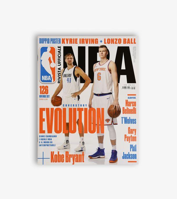 RIVISTA UFFICIALE NBA #126 NOVEMBRE 2017