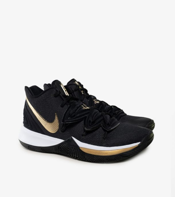 KYRIE 5 BLACK METALLIC GOLD