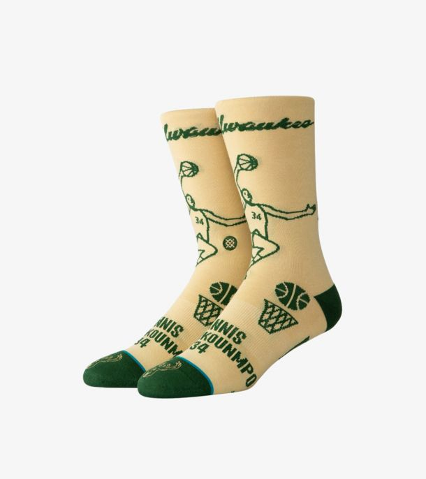 GIANNIS STENCIL SOCKS