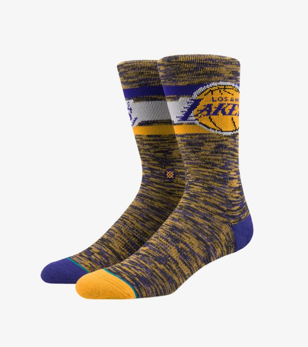 LAKERS MELANGE SOCKS